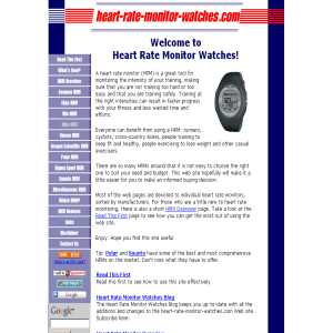 Heart Rate Monitor Watches