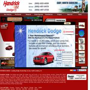 Hendrick Dodge | New & Used Dodge Cars dealer at cary,North carolina
