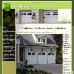 Garage Door Repair - Virginia Beach