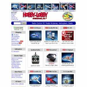 Hobby Lobbys RC Catalog