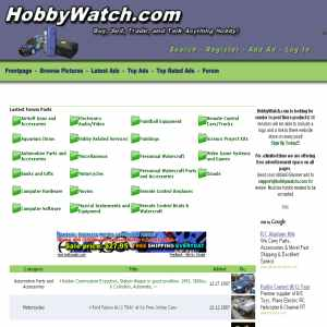 HobbyWatch.com Free Hobby Classifieds