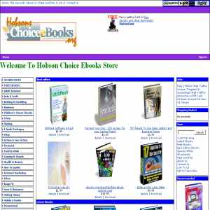 Hobsons choice ebooks
