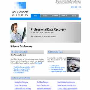 Hollywood and Los Angeles Data Recovery