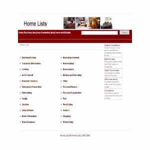 Home Living Directory