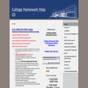 homework solutions website