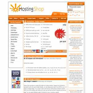 Hosting Shop | UK Web Hosting & Domain Name Registration