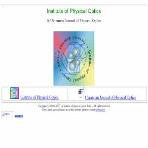 Ukrainian Journal of Physical Optics