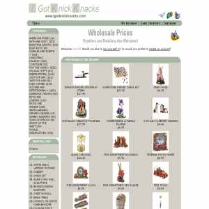 Wholesale distribution business | IGotKnickknacks.com