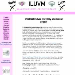 iluvm Wholesale Silver Jewellery