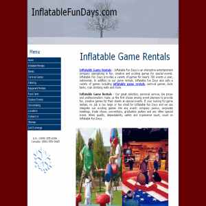 Inflatable Game Rentals | Party Rentals | Rental Services