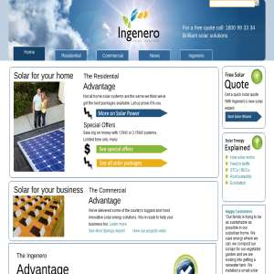 Solar Power Systems - Ingenero