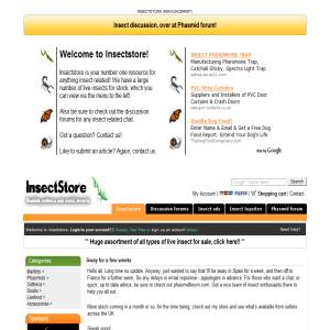 Insectstore