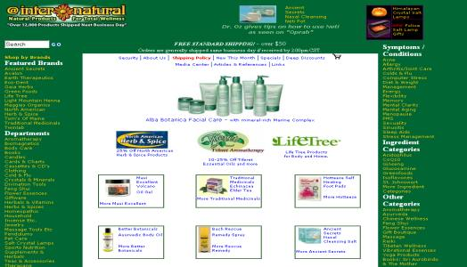 Internatural Health Beauty & Organic Skin Care