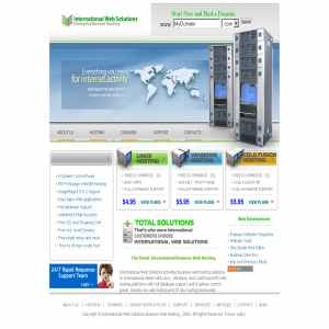 International Web Solutions Web Hosting