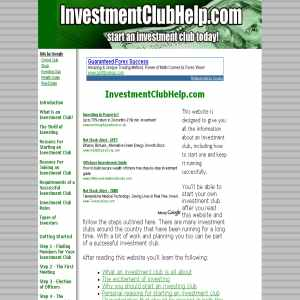 How to Start a Stock Club