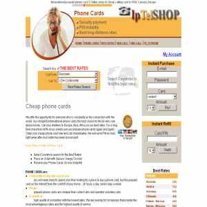 Prepaid phone card | Iptelshop.com