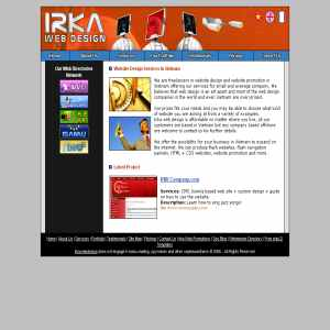 Irka Web Design