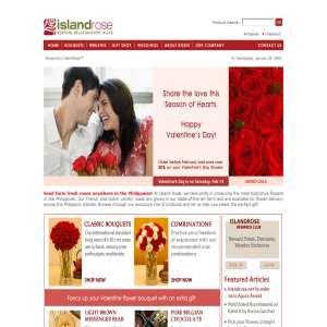 Philippine Florist - Island Rose
