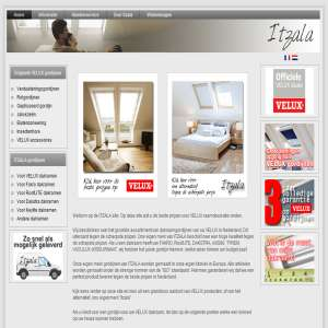Velux blinds in Belgium - Itzala