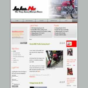 Japjunk.net Vintage Honda Motorcycle Information