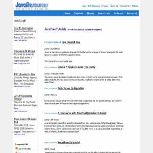 Javaresources.biz