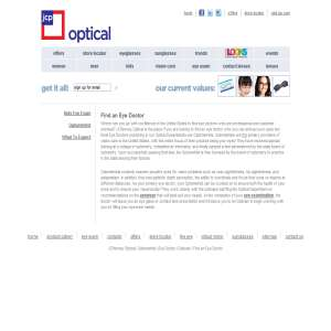 Eye doctor - JCPenney Optical