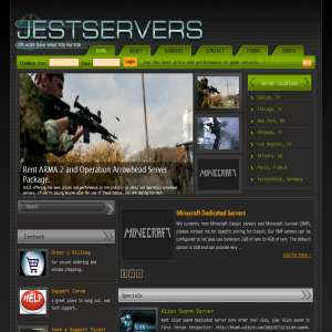 JestServers.com - Dedicated game servers