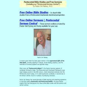 Online Bible Studies & Free Sermons