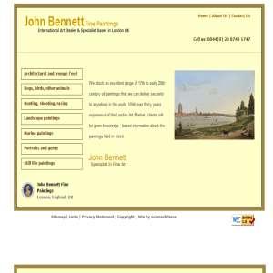 John Bennett Fine Paintings