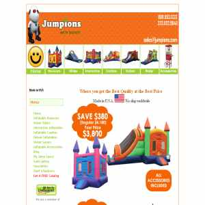 Moonwalks, Bounce House Manufacturer