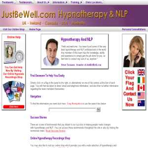 JustBeWell.com Hypnotherapy And NLP