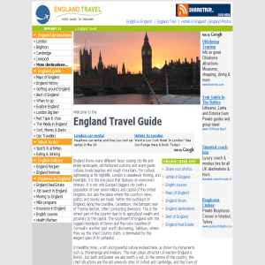 England travel