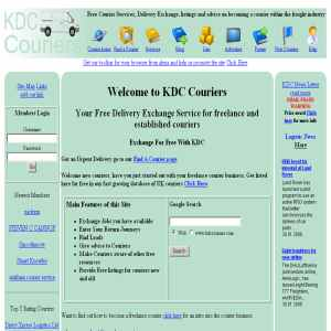 KDC Couriers | Free job exchange for couriers