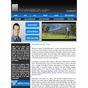 Kinan Beck - Austin Texas Real Estate