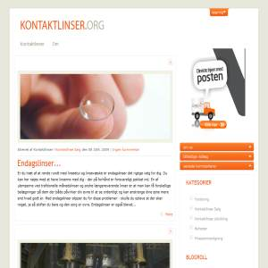Kontaktlinser - All about contact lenses