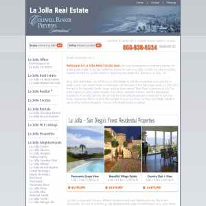 La Jolla Real Estate in La Jolla California