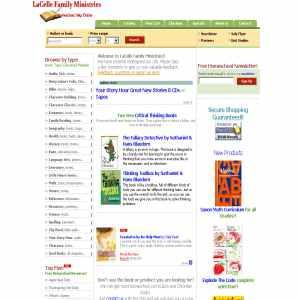 LaCelle Family Ministries New & Used Homeschool Books
