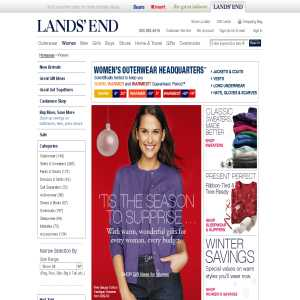 Womens Clothing - Lands End