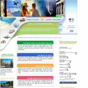Discount hotel bookings online for Greece & Cyprus