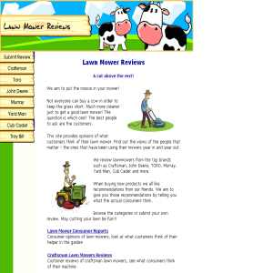 Lawn Mower Reviews
