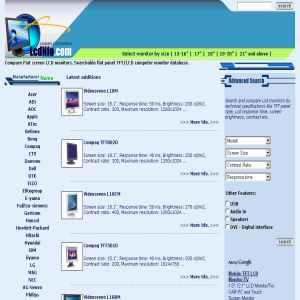 Compare LCD monitors