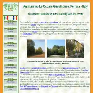 Agriturismo Le Occare Guest house Ferrara