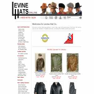 Levine Dress Hats
