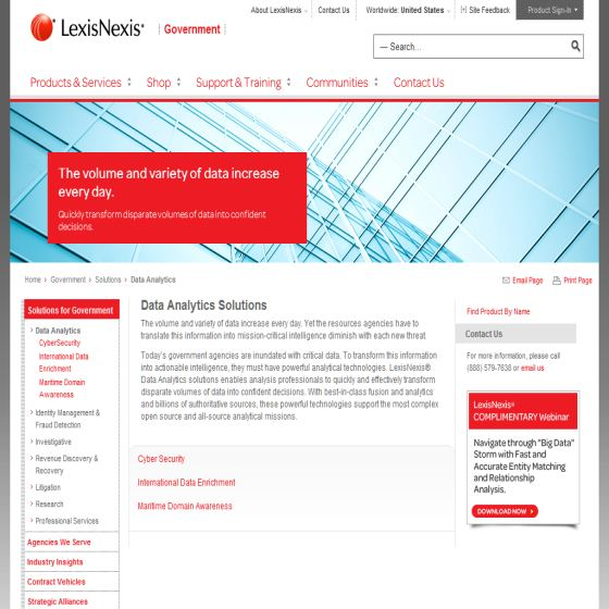 Data Analysis - LexisNexis