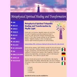 Metaphysical Spiritual Healing and Transformation