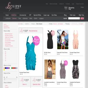 Find that perfect party dress with Lipsy, the women's fashion specialists.