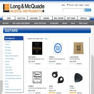 Long & McQuade - Guitars