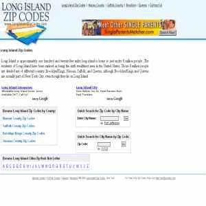 Long Island Zip Code