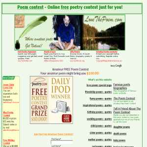 Teen Poem Contest 111