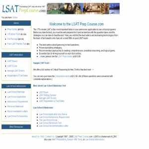 Lsat Prep Course And Free Sample Lsat Test